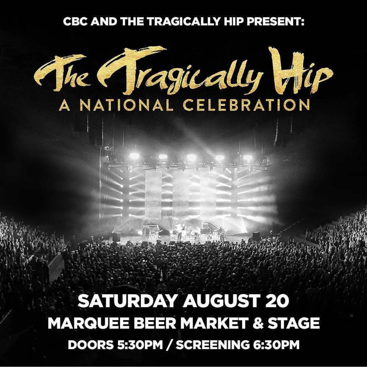 Tragically Hip Screening